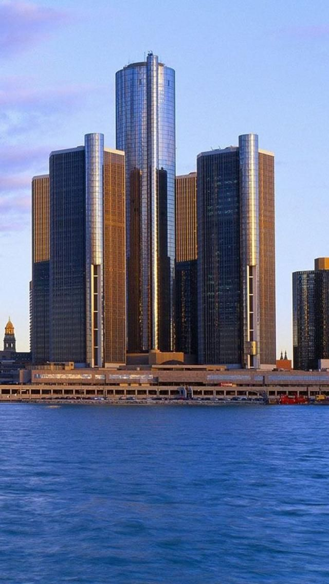 General Motors Headquarters Formerly Detroit Renaissance Center
