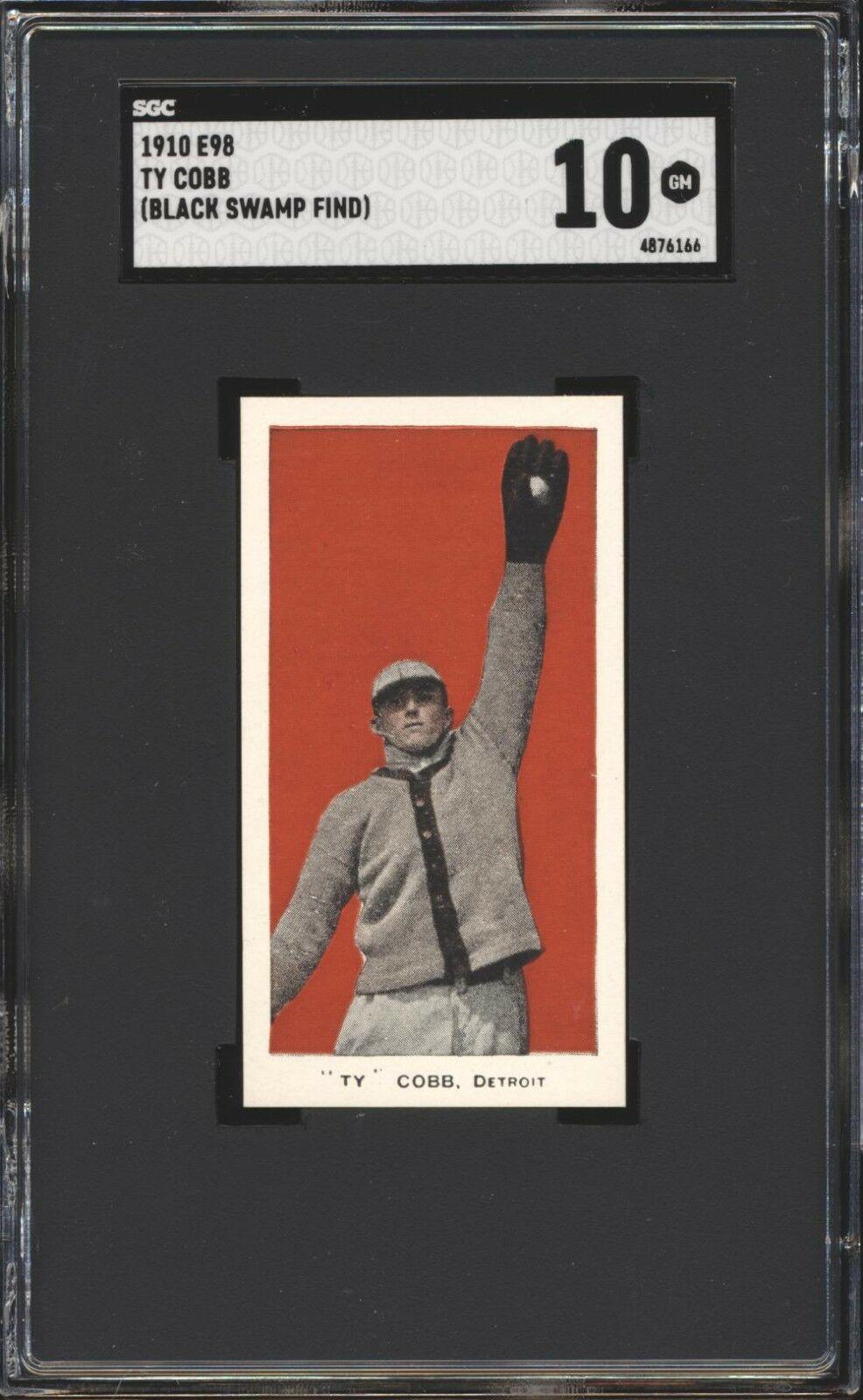 ty cobb baseball card price