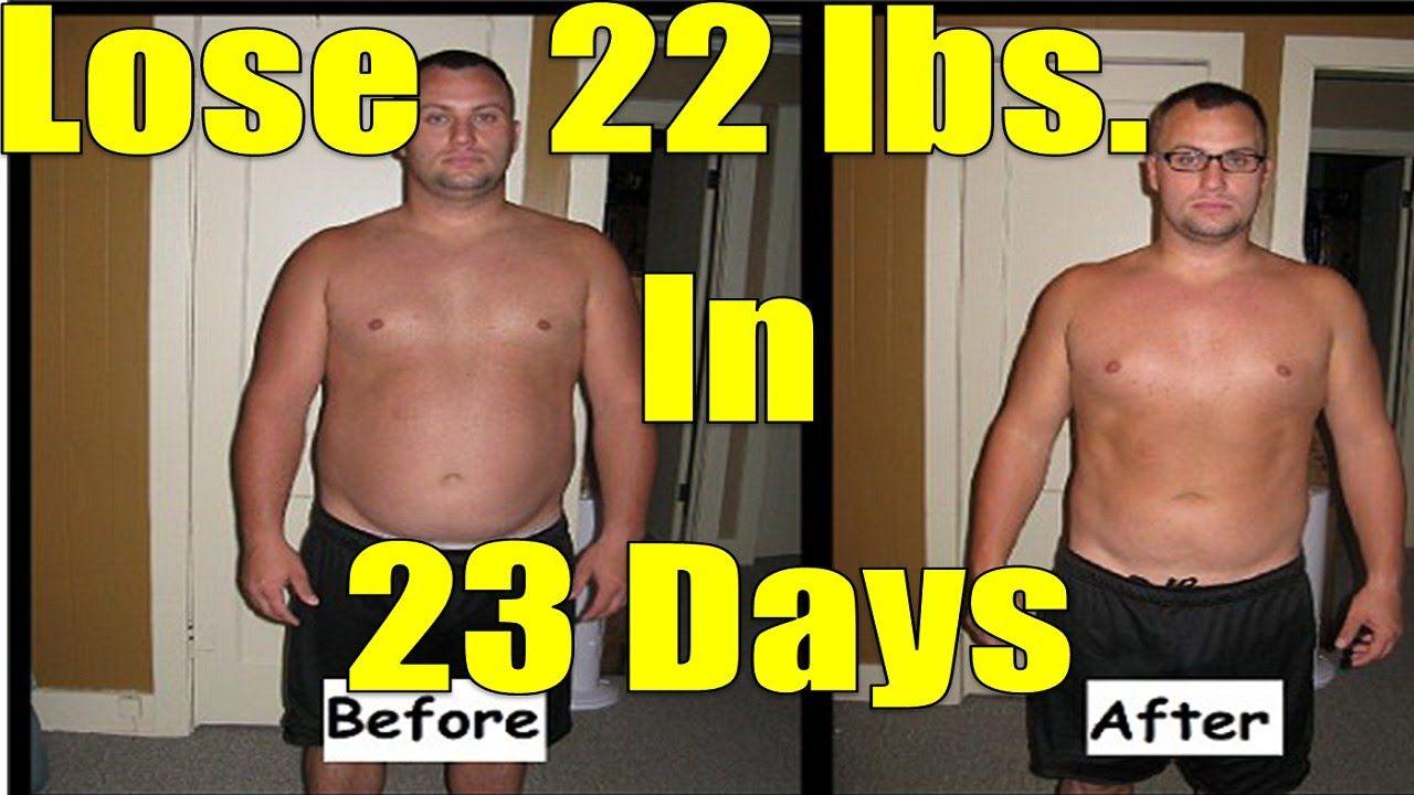 Emergency diet lose 20 pounds in 3 weeks or 22 lbs in