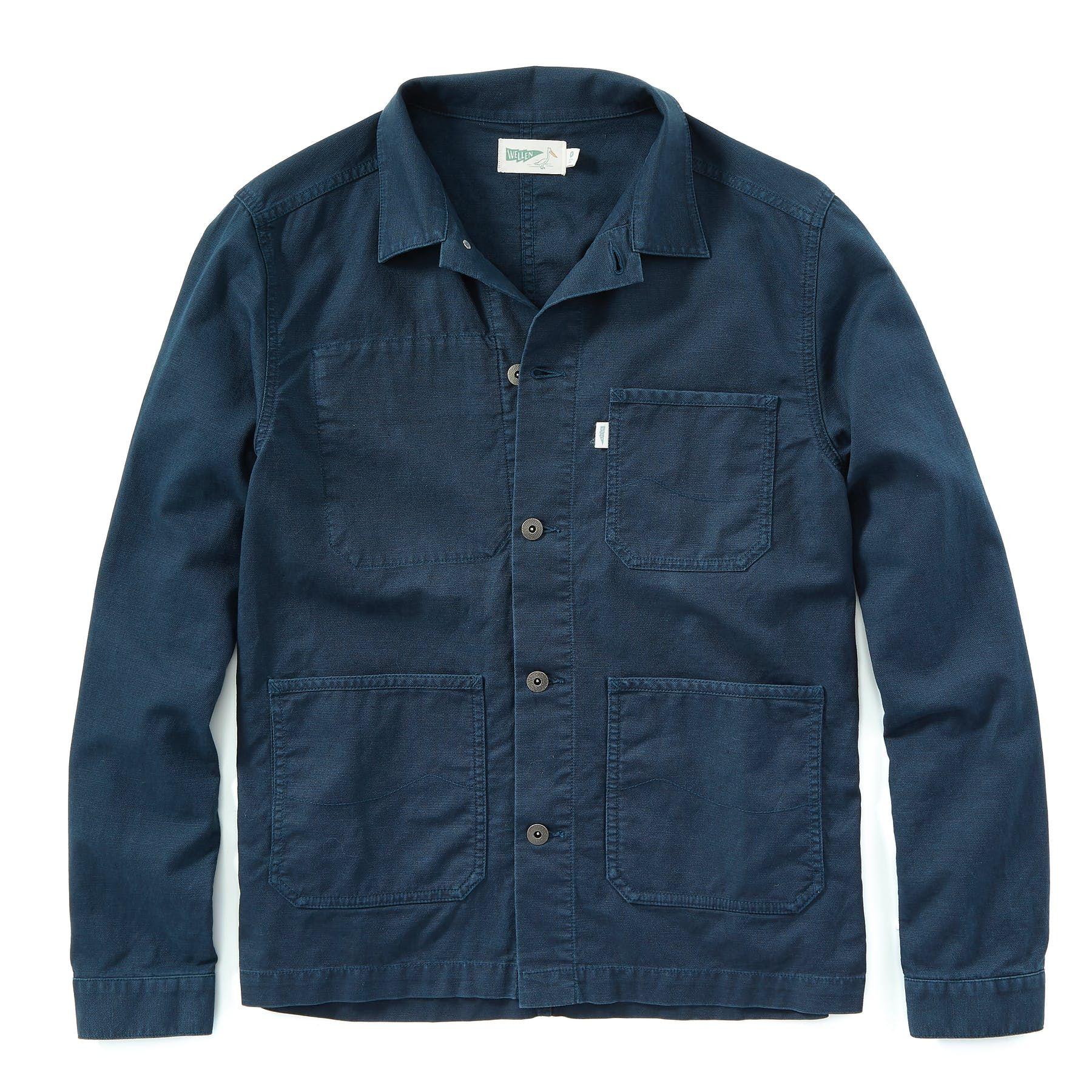Stretch Chore Coat Off white jacket