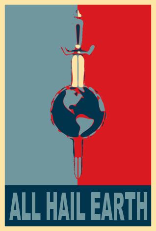 All Hail Earth By Camro Xxvii Star Trek Posters Star Trek Artwork Star Trek Quotes