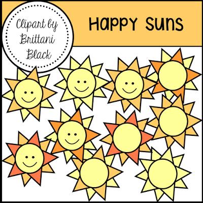 Free Happy Suns Clipart