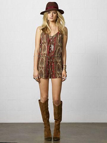 Denim  Supply Paisley Cotton-Blend Romper - Sale  Dresses - RalphLauren.com