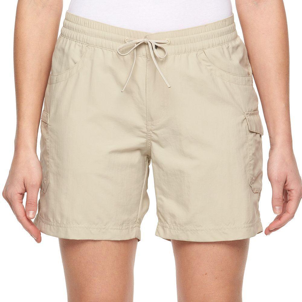 Womenus columbia amberley stream cargo shorts white cargo short