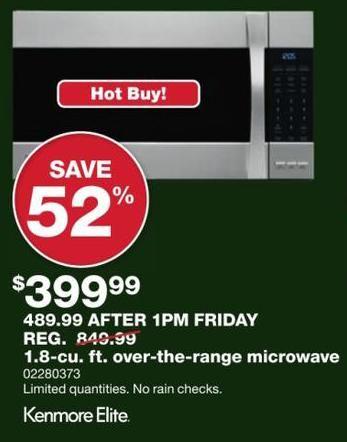 Best Black Friday Microwave Deals Microwave Over The Range Microwaves Best Black Friday