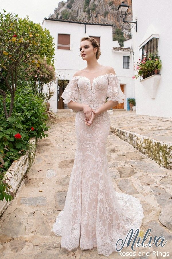 Milva Wedding Dresses 2019 Marbella Collection Lace Wedding