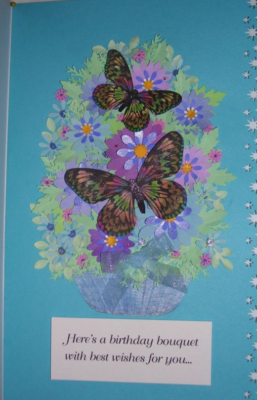 how to make uniquely beautiful floral greeting cards with