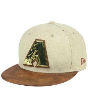 c89110bf4e2 NEW ERA. Arizona DiamondbacksOatmealSnapback CapSports ...