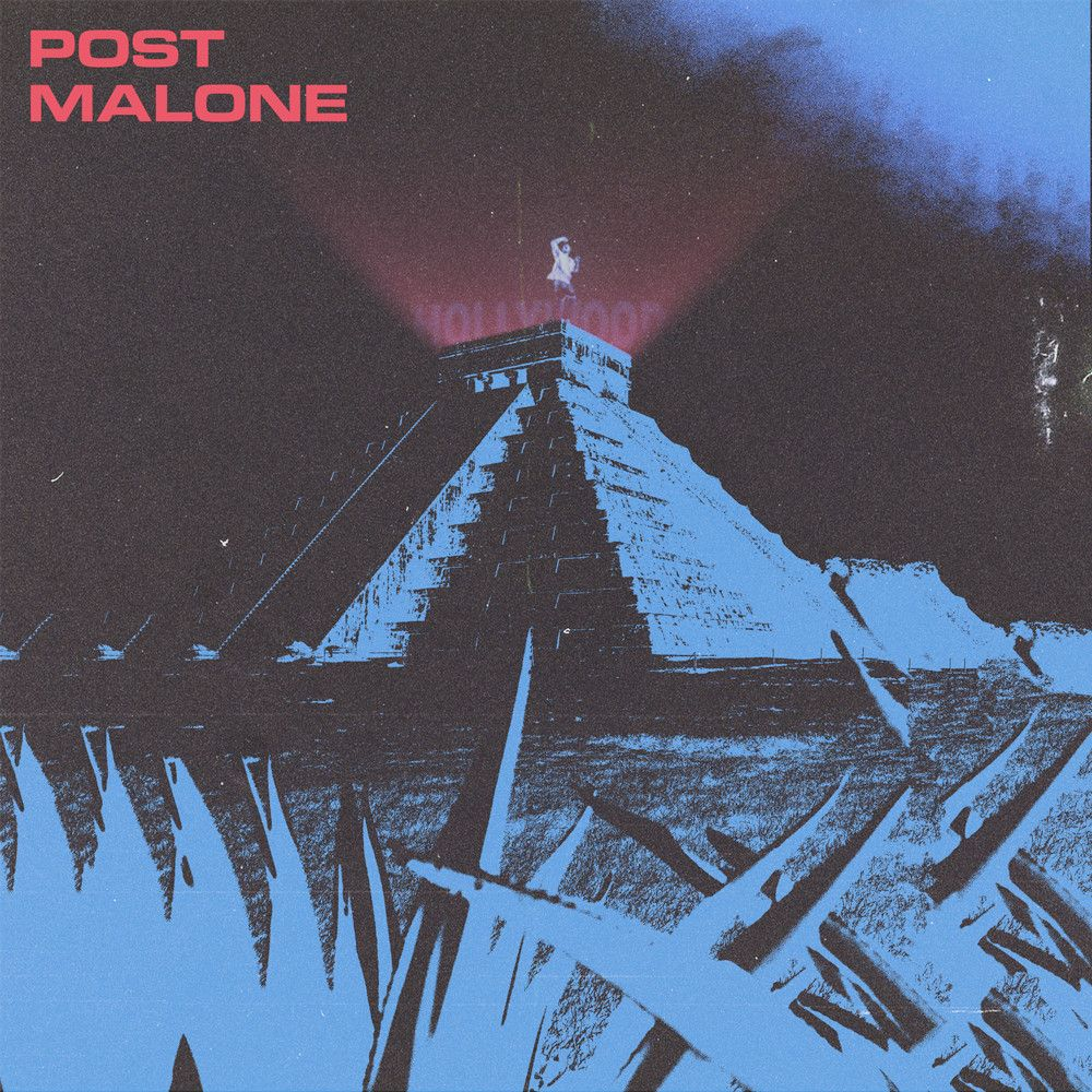 Post Malone Aesthetic: Album Art I Designed For Post Malone's Hollywood's
