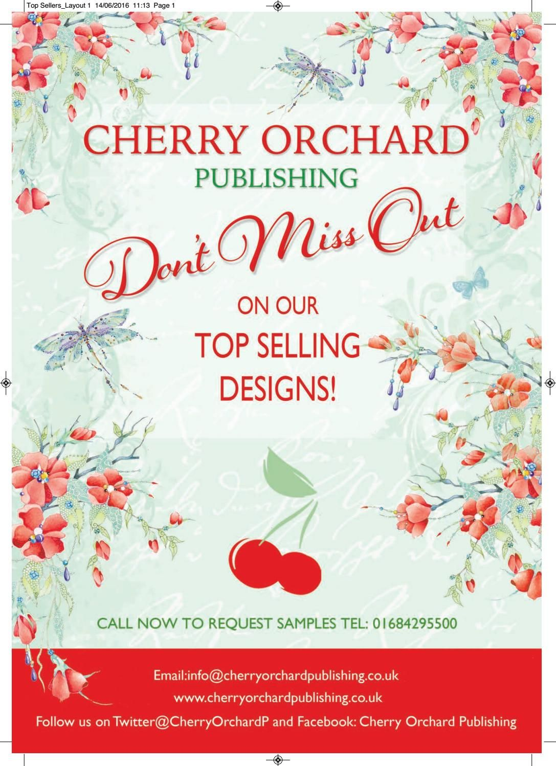 Top Selling Greeting Card Designs From Cherry Orchard Greetings