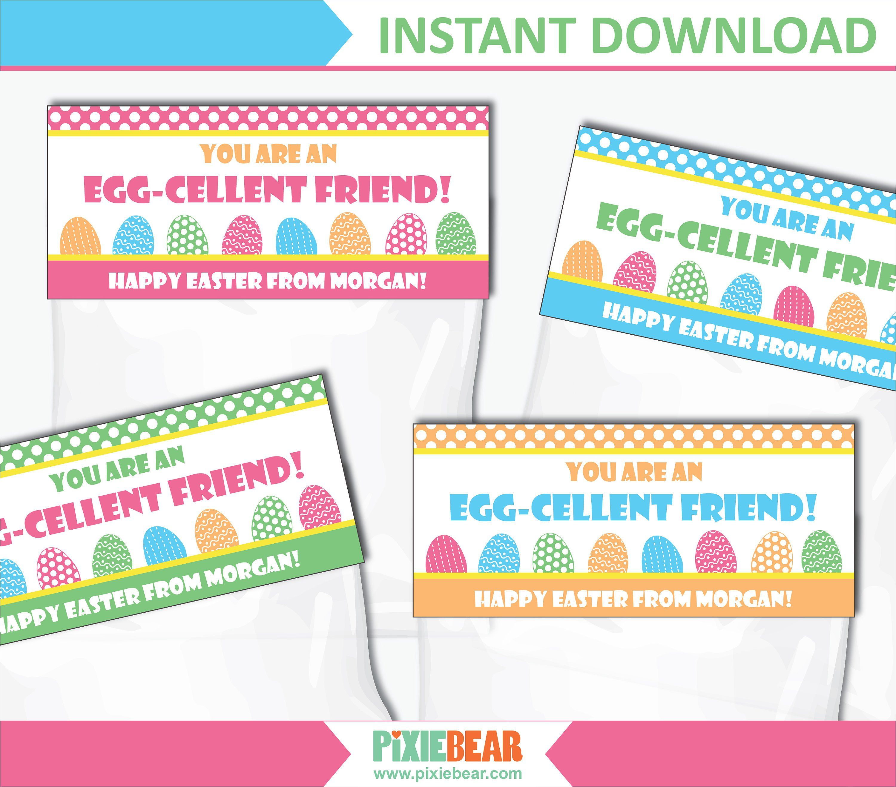 image regarding Printable Bag Toppers referred to as Easter Bag Toppers - Printable Prefer Bag Toppers for Easter