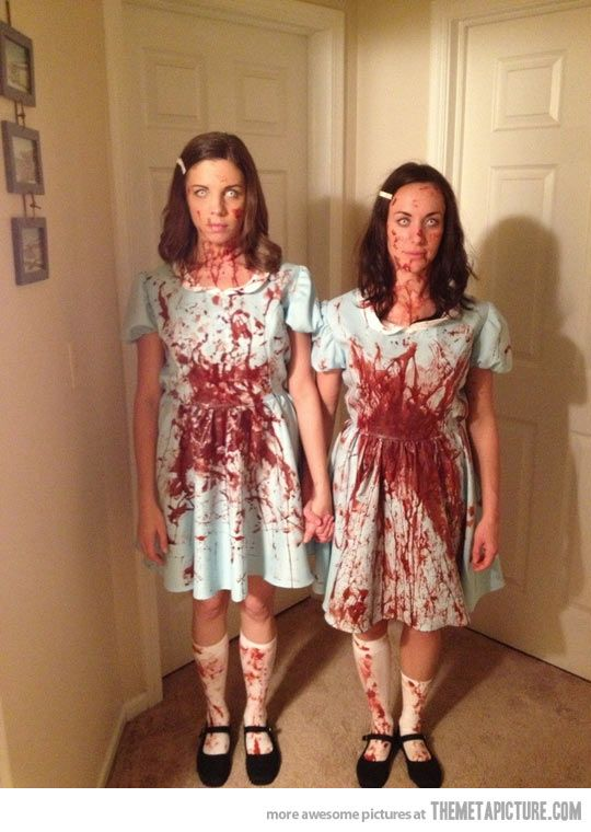 Grady Sisters Halloween costumes, Costumes and Cosplay - sisters halloween costume ideas