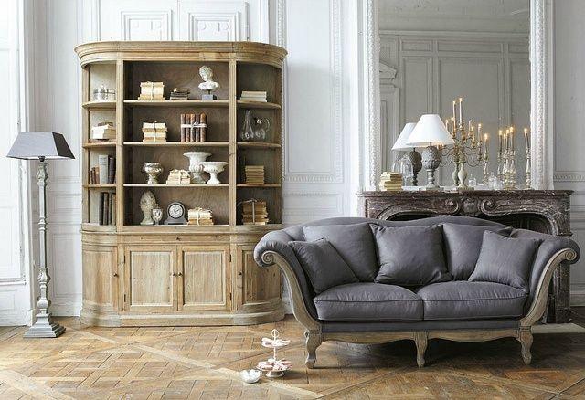divano-shabby-chic-maison-du-monde | Διακόσμηση Εσωτερικών Χώρων ...