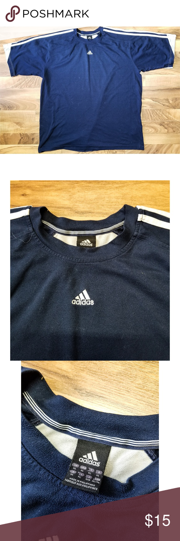 uk availability 051cd 83e67 Adidas Climalite Performance T Shirt. Great Shape! 💥 Great Condition! 💥  Awesome Climalite Technology! 💥 Classic Adidas Silhouette!
