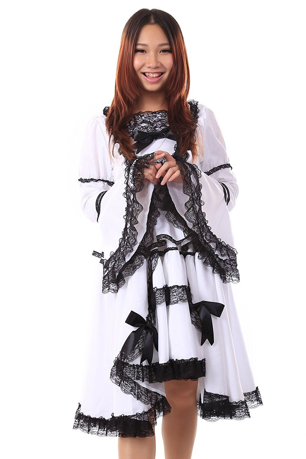 WS_COS Lolita Culture Cosplay Costume Lolita Dress 19th Version Set XS * Click image to review more details.