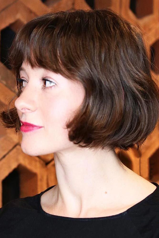 18 Flirty And Chic Ideas Of Wearing Short Hair With Bangs Today