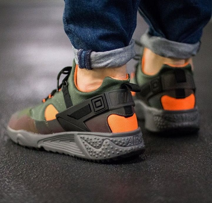 8be3080feb9e Nike Air Huarache Utility PRM  Carbon Green