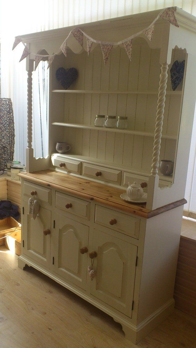 Distressed Welsh Dresser Shabby Chic Dresser Welsh Dresser