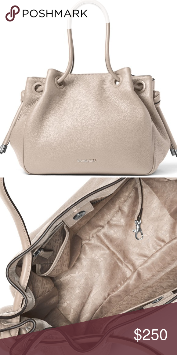 7fd3634171e5 Michael Kors Dalia Large Leather Tote in Cement Excellent Condition Michael  Kors Dalia Large Tote in Cement. Photos will be posted later today!