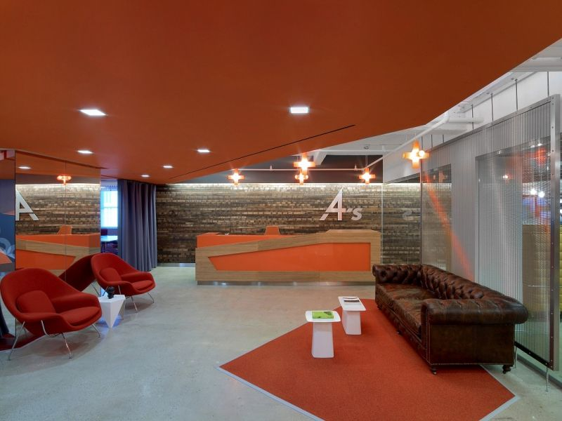 4As: NYC Advertising Agency Office Design | Benhar Office Interiors