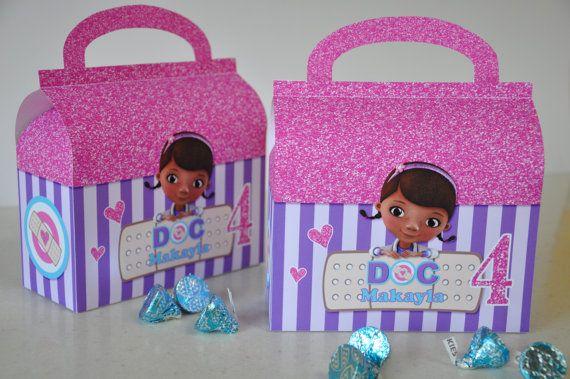 Doctor S Bag Favor Box Perfect Party Keepsake For Your Doc Mcstuffins Party Doc Mcstuffins Doc Mcstuffins Doctor Bag Doc Mcstuffins Birthday Party
