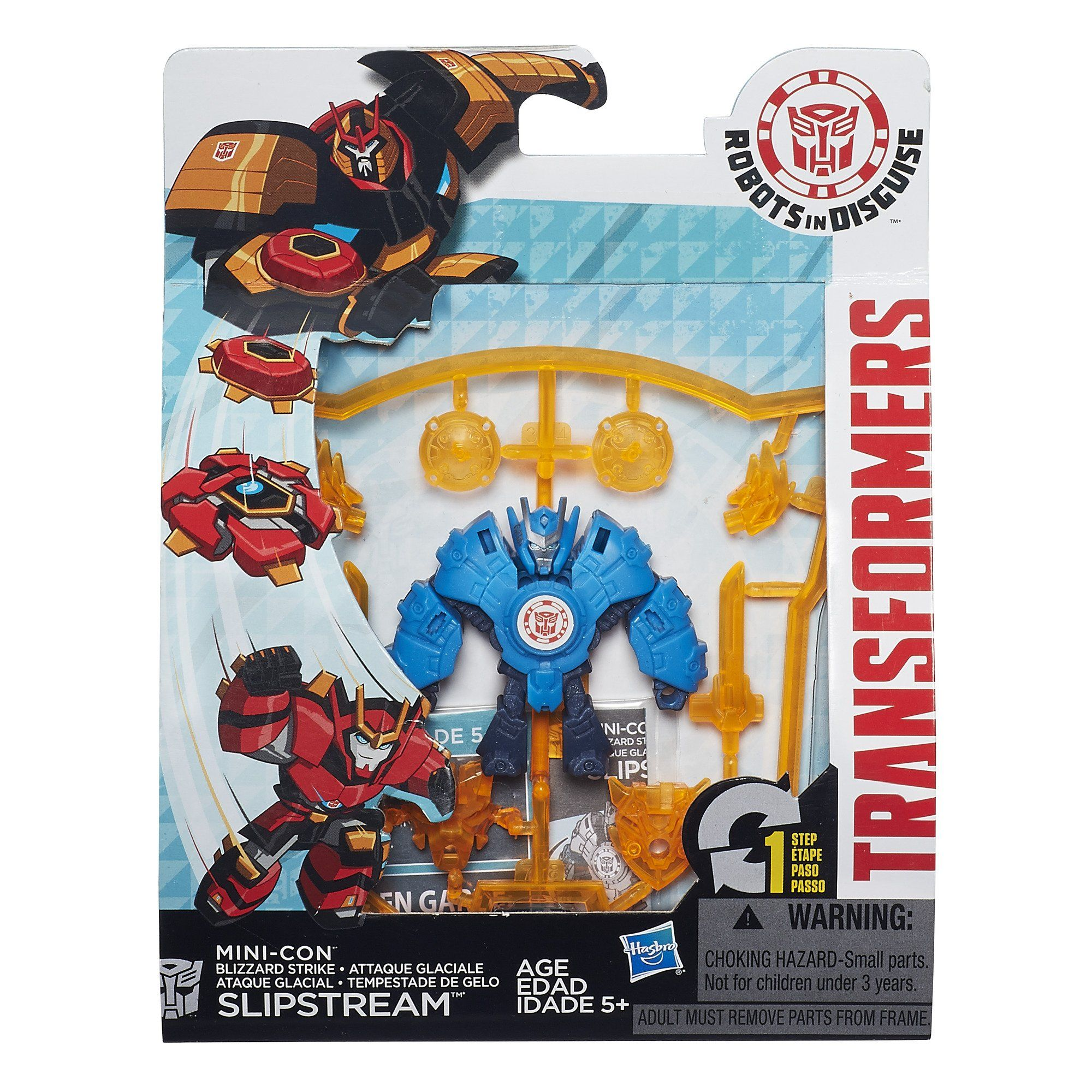 Transformers Robots in Disguise Tiny Titans Wave 5 Mini Figure Autobot Drift