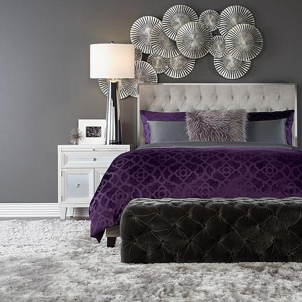 Z Gallerie Home Design In 2019 Purple Bedroom Decor