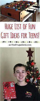 BIG List of Fun Christmas Gift Ideas for Teens! from #Hair #Hairstyle #Hairsty... - Elaine