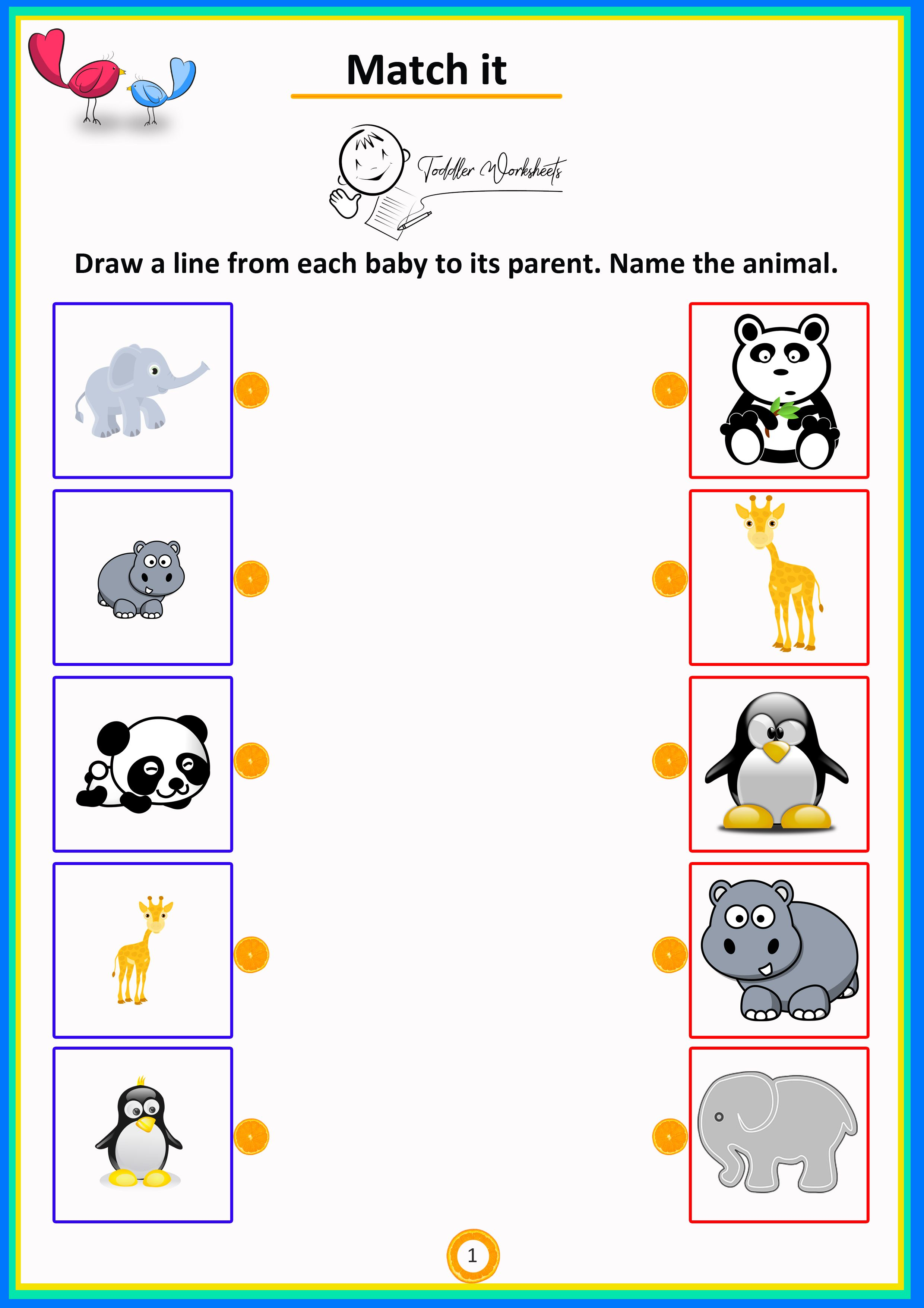 Match The Mother To The Babies Simple Math Preschool Worksheets Preschool Math Animal Worksheets Preschool Math Worksheets [ 3508 x 2480 Pixel ]