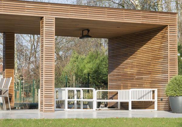 wood arts maakt moderne tuinhuizen en andere hout en bij gebouwen zoals garages carports