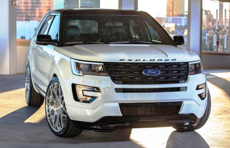 Ford Sema 2015 Custom Trucks Galpin F 150 In Gulf Racing Livery Is Best Of Group 2019 Ford Explorer Ford Explorer Sport Ford Explorer