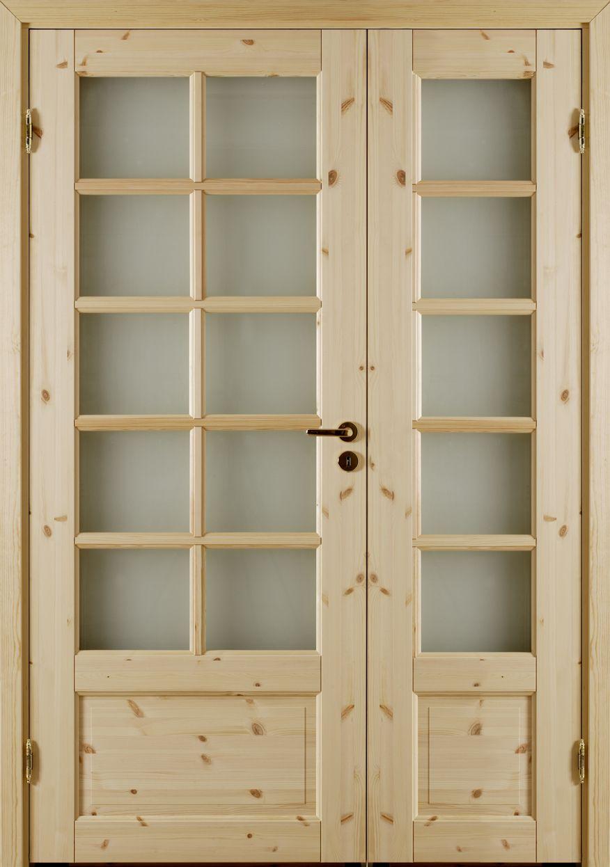 Atle 4 SP10+SP10 - Interior door Made by GK Door, Glommersträsk, Sweden.