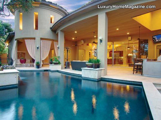 Keith Zars Pools San Antonio Custom Swimming Pools Mike Hollaway Custom Homes San Antonio