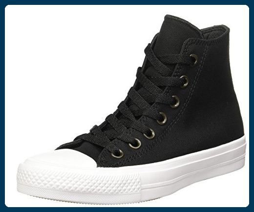 Converse Unisex-Erwachsene Sneakers Chuck Taylor All Star II C150143 High-Top,  Schwarz
