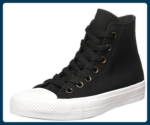 Converse Unisex-Erwachsene Sneakers Chuck Taylor All Star II C150143 High-Top,  Schwarz