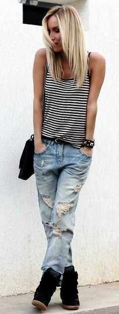 Wedge Sneakers Style on Pinterest