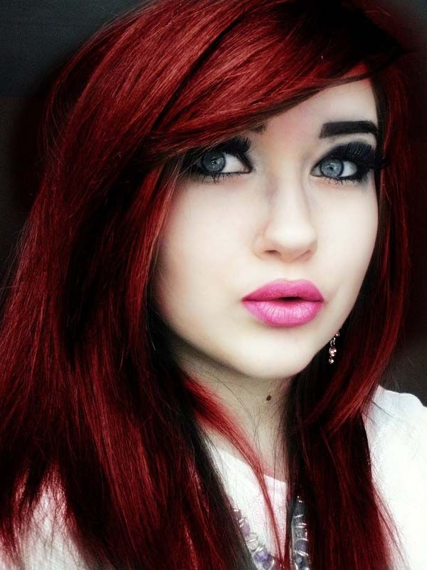 Choosing A Shade Of Red Hair Color