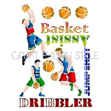 Stencil G 21x29.7 cm Basket