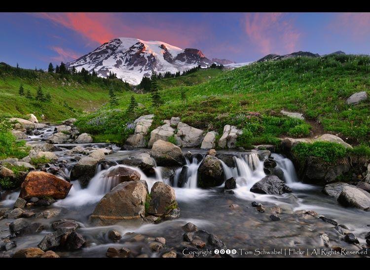 Mount Rainier Sunrise II by Tom Schwabel on 500px