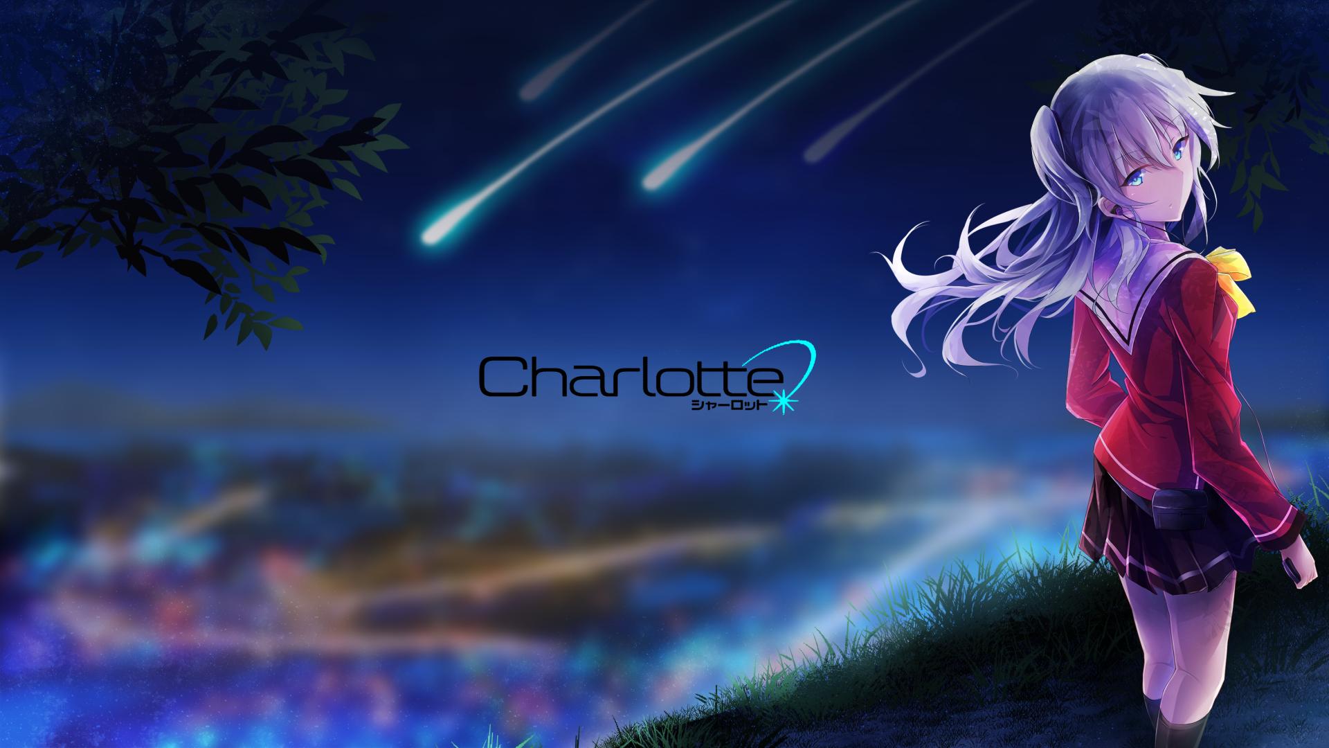 Anime Charlotte Nao Tomori Fondo De Pantalla
