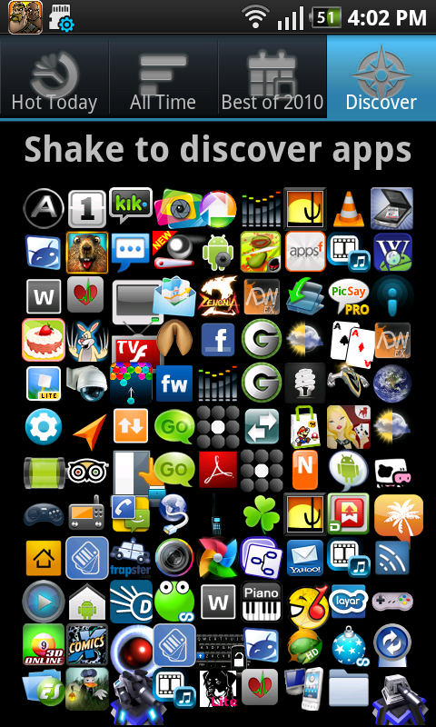 Hot android apps