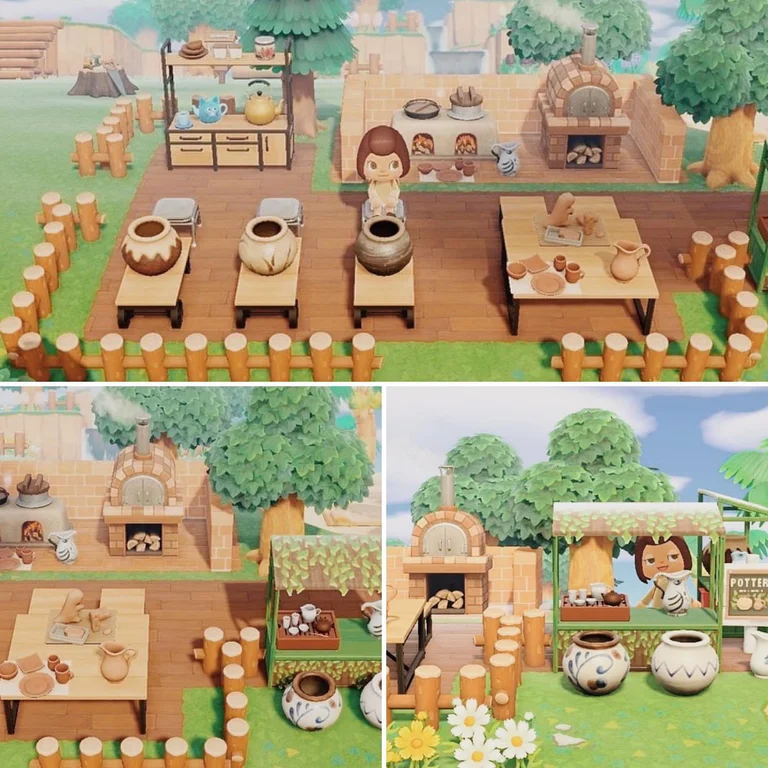 Everyone out here working on their ironwood kitchens but I ... on Ironwood Animal Crossing  id=86377