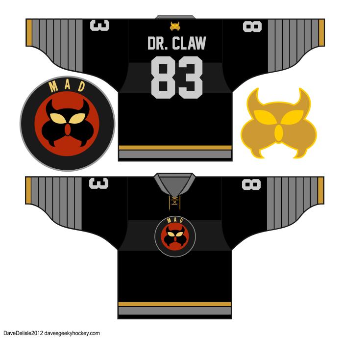 Inspector Gadget Scooby Doo Hockey Jersey Designs Jersey Design Inspector Gadget Hockey Jersey