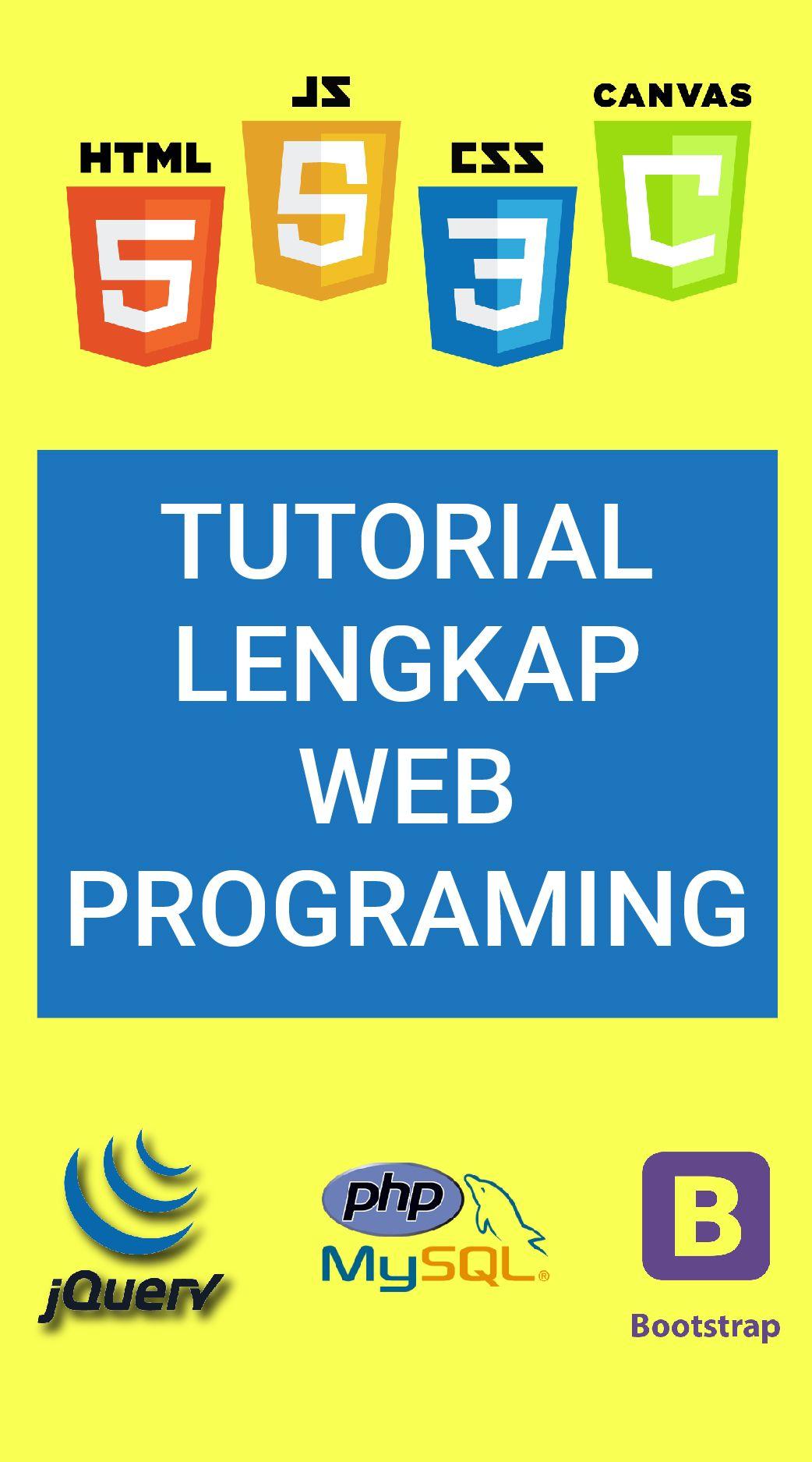 Complete web programing tutorial | programming | pinterest | web.