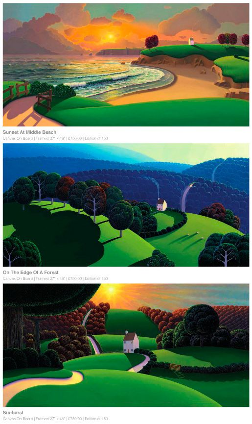 Paul Corfield Studio Work: New prints for autumn.