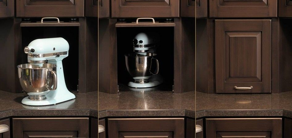 kitchen appliance cupboard roller door - Google Search | Home ...