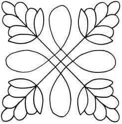 Pin by Tracey Reynolds on stencils   Costurar colcha ...
