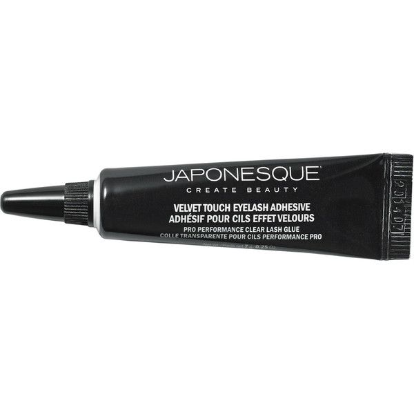 Japonesque Velvet Touch Lash Adhesive (14 AUD) ❤ liked on Polyvore featuring beauty products, makeup, eye makeup, false eyelashes, beauty, lashes and japonesque