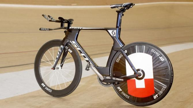 #MatthiasBrändle's #HourRecord #ScottPlasma5 - Matthias Brändle's Scott Plasma has been tweaked for top performance on the grip
