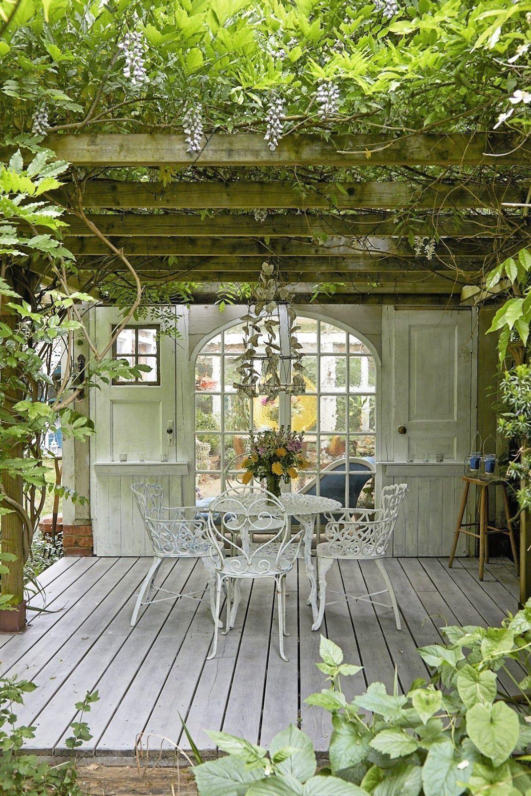 Rustikal Vintage Shabby Charm 2 Dezember 2018 Zsazsa Bellagio Wie Kein An Modern Design Gartengestaltung Gartengestaltung Ideen Gartenhaus